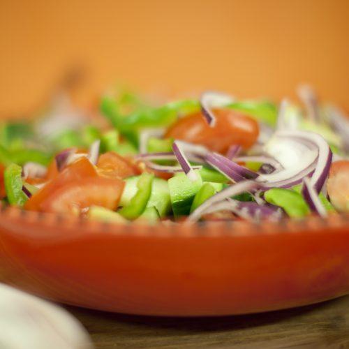 Griekse Olijfboom Salade